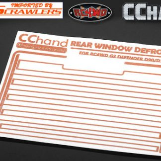 R/Window Defroster Decal Gel II (D90/D110)