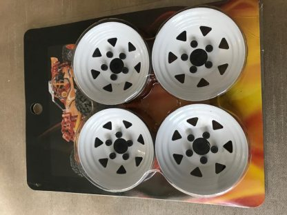 1.9 Wheel Stud Beadlock Steel Wheels - (4pcs)